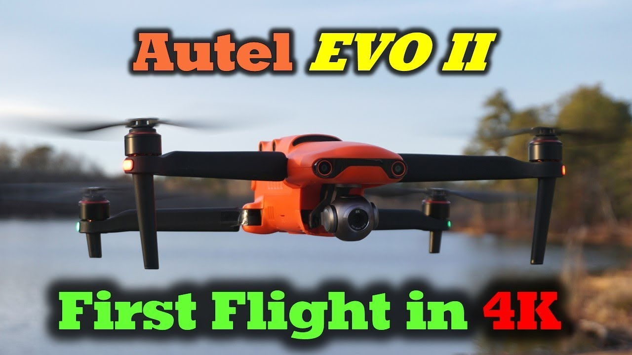 Autel Evo 2 - First Flight & Sample 4K Footage!