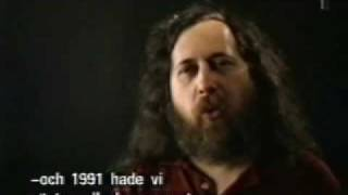 Richard Stallman: Free v Open Source Software
