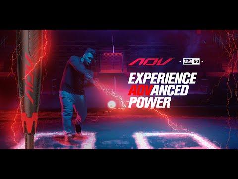 Experience ADVanced Power - 2019 Easton ADV -3 BBCOR 2-Piece Composite Bat