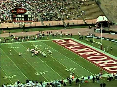 Stanford Football vs. UCLA (2001) - Part 3 of 4
