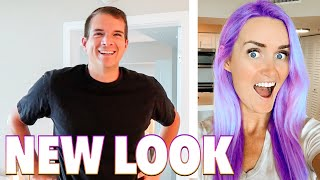 WIFE'S NEW LOOK 😳 OH NO SHE DIDN'T! WIFE TRANSFORMATION SHOCKS HUSBAND! TO THE SALON 💇♀️ HAIRSTYLES screenshot 4