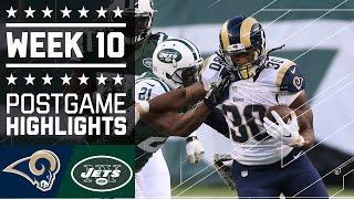 Rams vs. Jets | NFL Week 10 Game Highlights