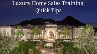 Luxury Home Sales Training Quick Tip #32 - Luxury Open House Event