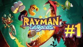 Rayman Legends #1 Ekipa z Plusem