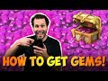 How To Get GEMS as a Free 2 Play in Castle Clash
