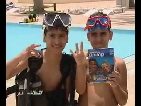 Kids Scuba Diving Training in Qatar (PADI) by Khaled Zaki - Qatar Marine