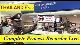 🇹🇭 #9 FREE THAILAND VISA ON ARRIVAL 2019 RECORDED LIVE