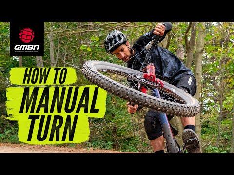 How To Do A Manual Turn | MTB Skills