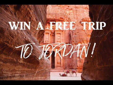 WIN A FREE TRIP TO JORDAN with Let's Explore and VisitJordan