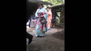 茶道 宗和流、香道 御家流 献茶式 お練り traditionare nobile festa entrance in Japone.