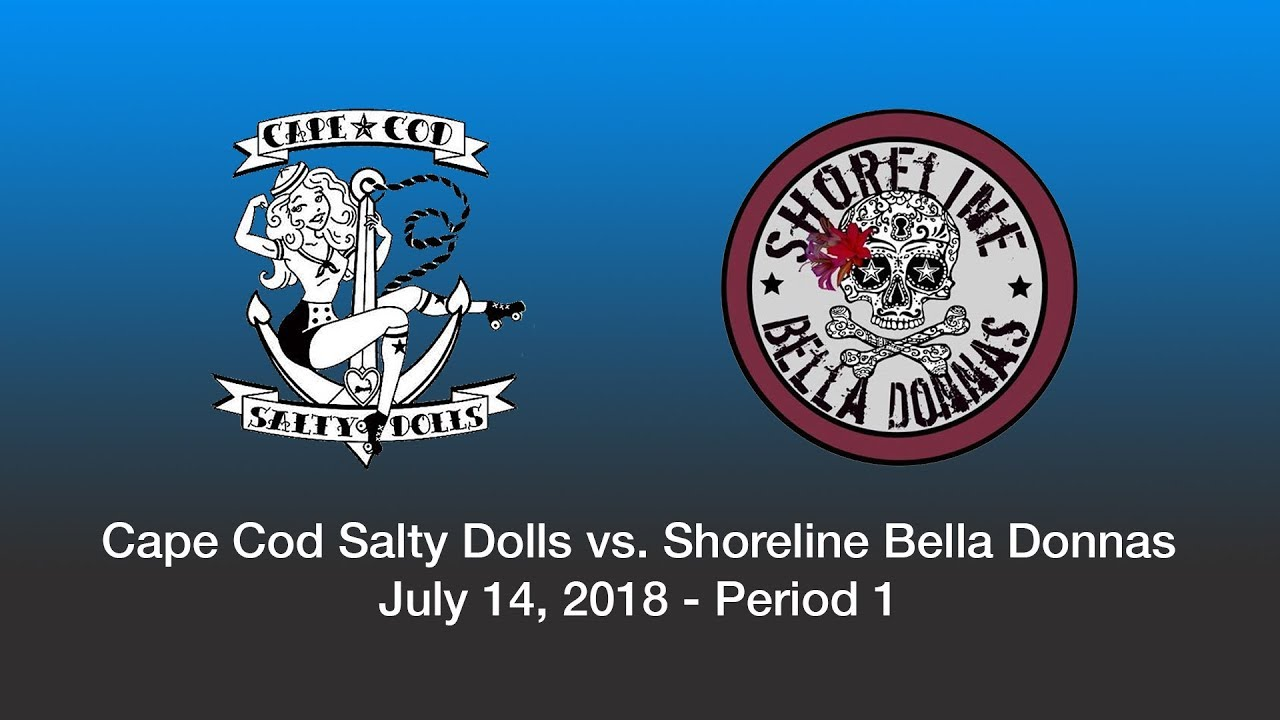 Cape Cod Salty Dolls vs. Shoreline Bella Donnas (7/14/18) Part 1