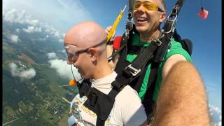 Skydiving with Cancer