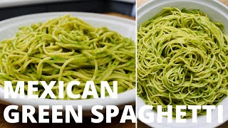RECIPE: Mexican Green Spaghetti  COOKINGWITHELVEE