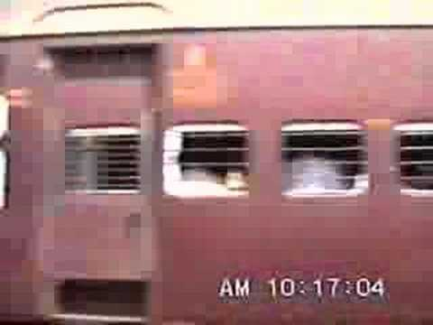 Crossing the Bombay Mail - DR-MAS Exp. (July 1992)