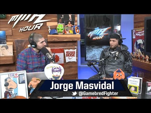 Jorge Masvidal Talks Street Fighting, Sucker Punching, Lorenz Larkin and More