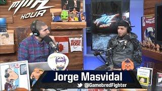 Jorge Masvidal Talks Street Fighting, Sucker Punching, Lorenz Larkin and More