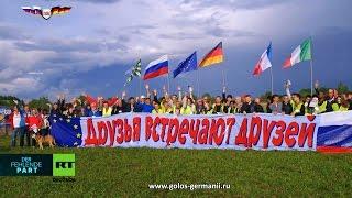 Немцы совершили полёт за Мир в Санкт-Петербург [Голос Германии]