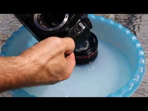 How you clean the Canon Mark 2 sensor and the 24-105