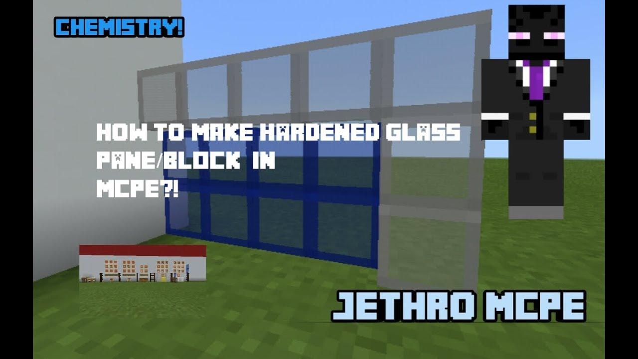 Chemistry Vid 5 How To Make A Hardened Gl Pane Block Jethro Mcpe