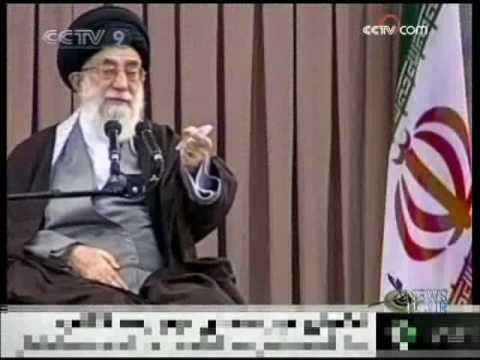 Khamenei denounces photo insult - CCTV 091214.wmv