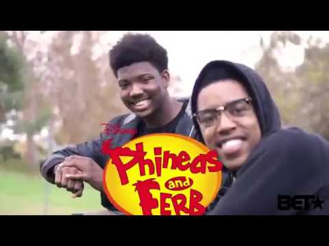"""Phineas & Ferb produced by BET"" by: KING VADER"