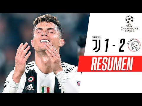 Juventus - Ajax [1-2] | GOLES | Cuartos de final (VUELTA) | UEFA Champions League