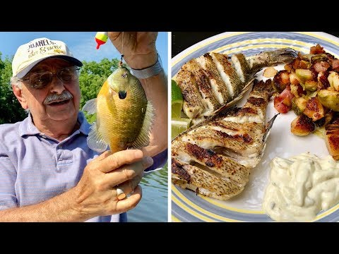 Fishing for Bluegill on the Grill (with a minimum of skill)