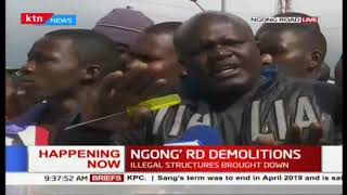 Ngong Road Mechanic loses 22-year-old business in a demolition exercise