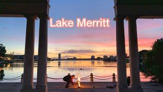 Walk Around Lake Merritt in Oakland, California, USA 🇺🇸