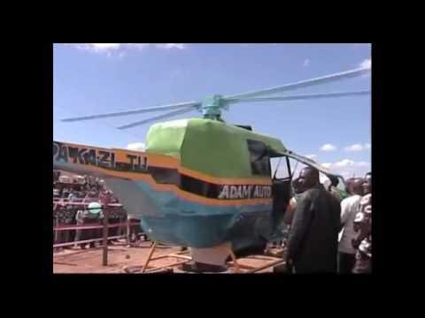 Chopa Iliyotengenezwa Tanzania(helicopter Made In Tanzania)