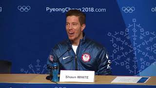 Shaun White on third Olympic gold medal: It hasn