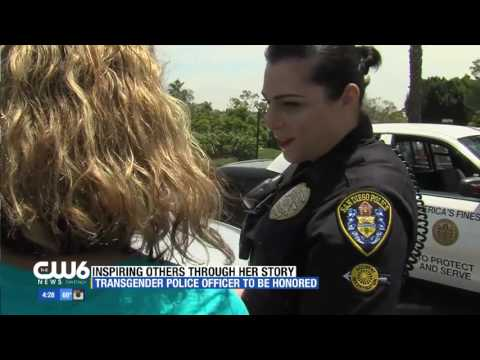 First Transgender police officer in San Diego inspring others through her story
