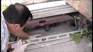 Lifting a Concrete Sidewalk Making it Level DIY