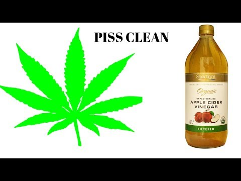 how much apple cider vinegar should i drink to clean my system of thc