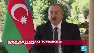 'We don't have Syrian mercenaries': Ilham Aliyev speaks to France 24