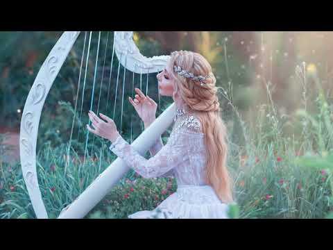 Расслабляющая атмосфера 😌Красивая музыка арфы для расслабления 😌Спокойная арфа инструментальная
