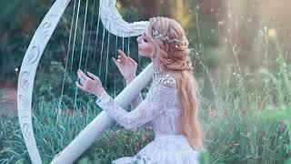 Ambiente relajante  Hermosa música de arpa para relajarse  Instrumental de arpa tranquila