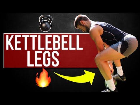 KETTLEBELL LEG DAY! Build LEGS at Home! Just one Kettlebell needed...
