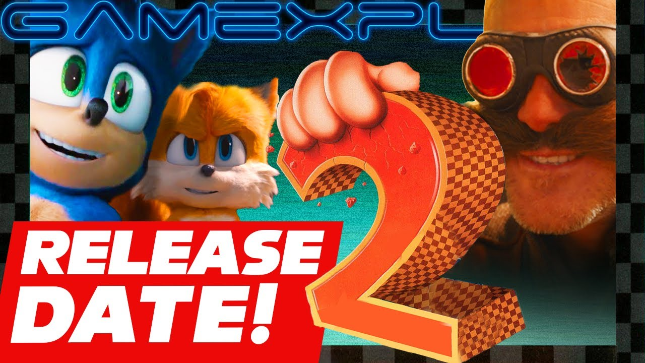 The Sonic The Hedgehog 2 Movie Has A Release Date Youtube