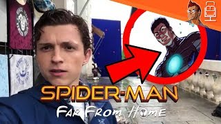 Hydro-Man Teased in Spider-Man Far From Home Set Video