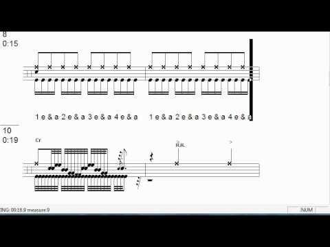Drum : drum tabs for beginners Drum Tabs or Drum Tabs For' Drum ...