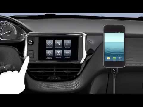 Mirror Screen Peugeot 208 restylée (2015 facelift) - Vidéo officielle (  www feline cc )
