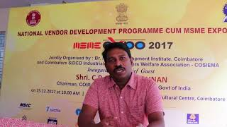 (Tamil) Fresher to Entrepreneur - Start your business - MSME DI, Coimbatore
