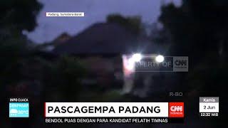 Video Amatir Warga Panik Akibat Gempa Padang