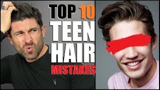 10 BIGGEST Hairstyle Mistakes MOST Young Men Make!