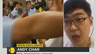 WION Exclusive on HK Protest: 'We need India's support' says Andy Chan