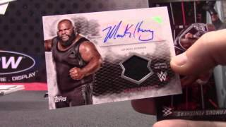 2015 Topps WWE Wrestling Undisputed Box Break Random Hit Single Box # 2