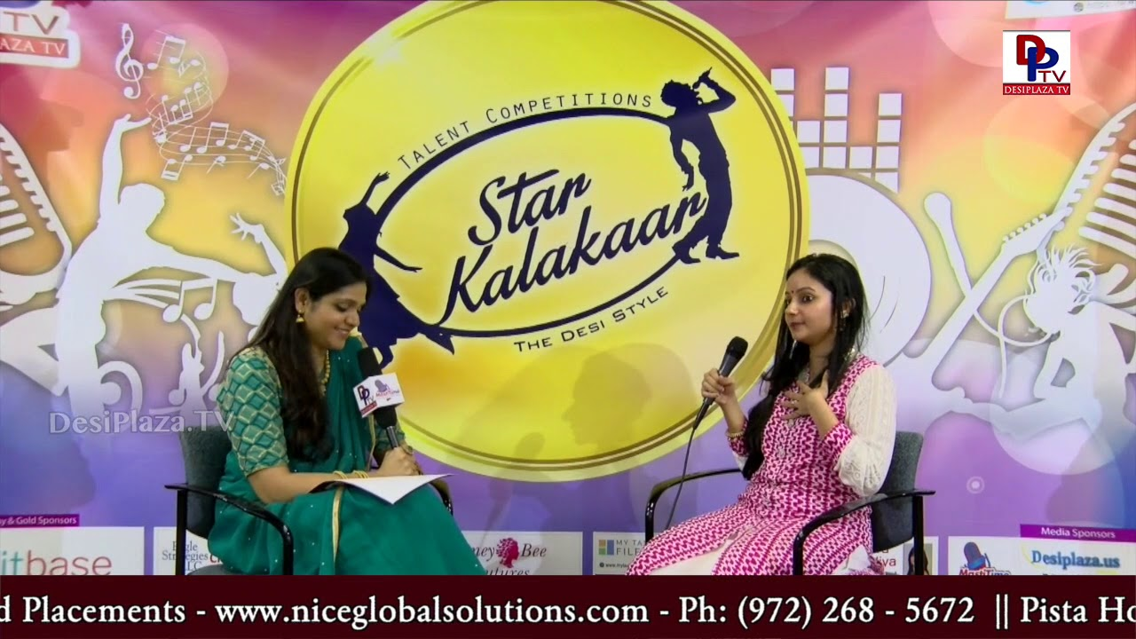 Interview with Vandita Mohan - Host: Sameera Illendula | #SK2018 | DesiplazaTV