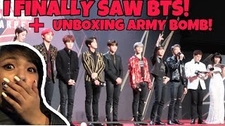 I FINALLY SAW BTS + UNBOXING ARMY BOMB VER. 3! (MAMA 2018 IN HONG KONG)