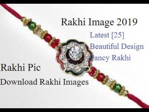Rakhi Image 2019 Latest [25] Beautiful Design Fancy Rakhi Photo Images Rakhi Pic